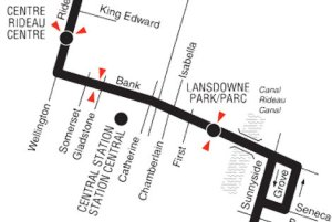 Click image for all OC Transpo route maps and timetables.