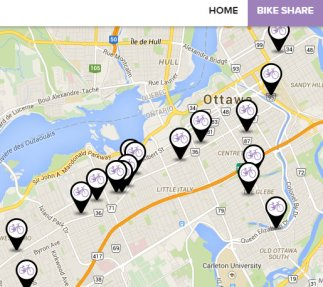 Click image for zoomable map of RightBike locations.